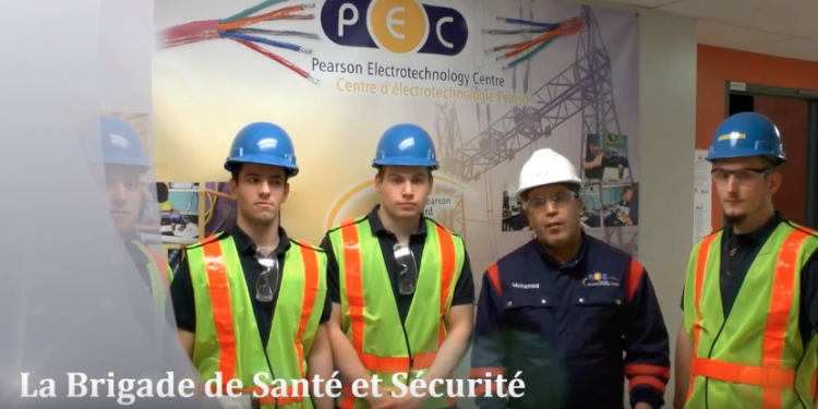 PEC video wins gold medal at CNESST competition for safety