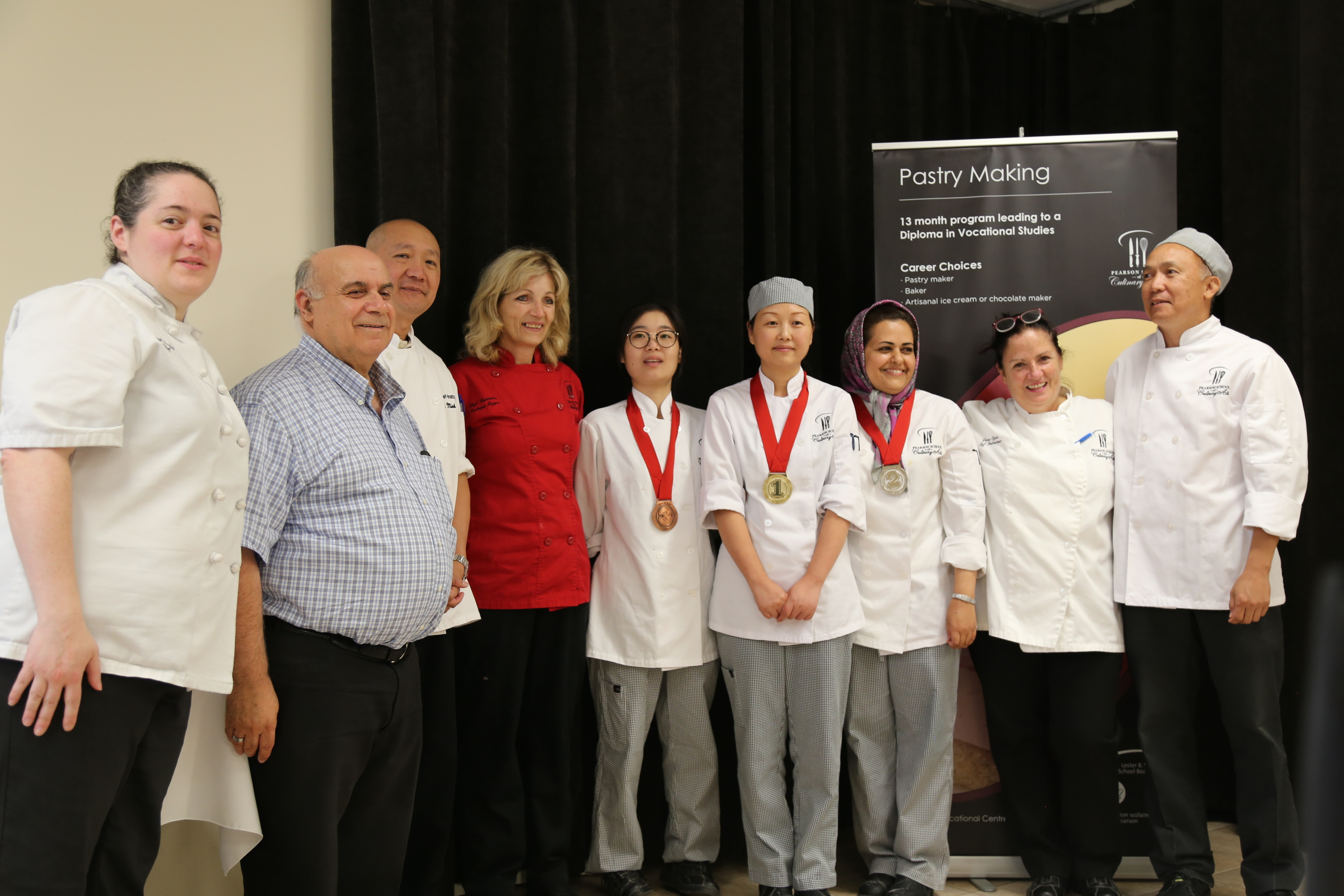 PACC Pastry Olympics – students prepare for les Olympiades de la formation professionnelle