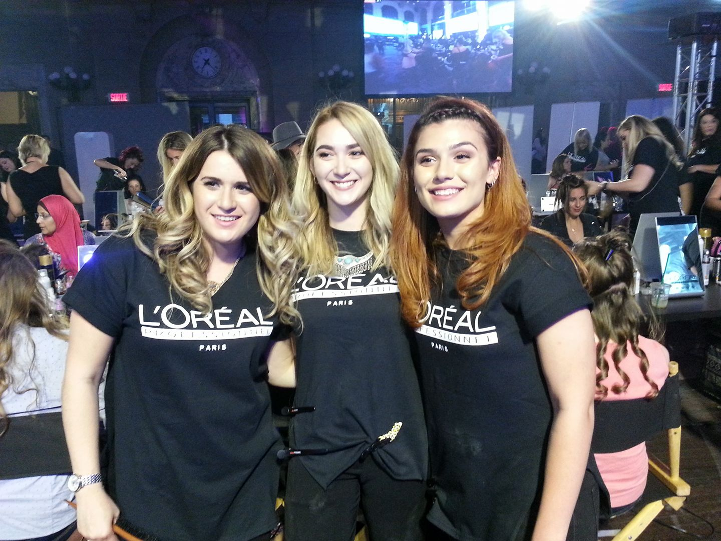 Gordon Robertson Beauty Academy participated at the L'Oreal Hair Fashion Night on June 15,2017