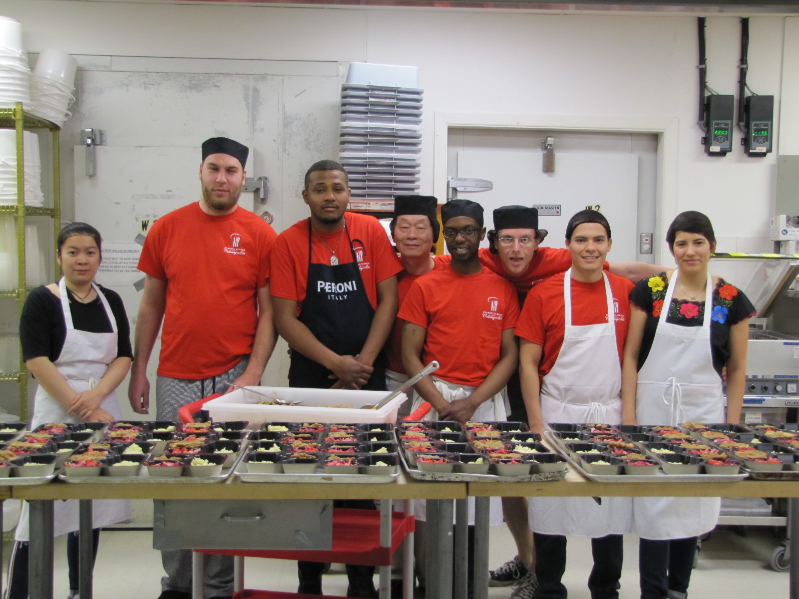 All Shall Eat!! – A student-led initiative at the Pearson School of Culinary Arts